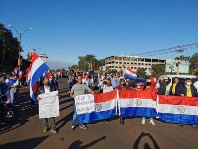 CDE: Ciudadanos se manifestaron en contra de la corrupción