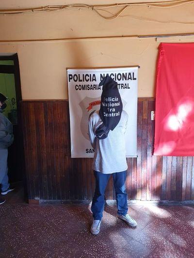 Policías detienen a cuatro personas en San Lorenzo