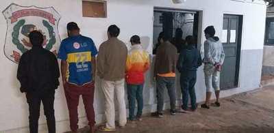 Operativo antimotochorros arroja 9 detenidos en Luque • Luque Noticias