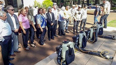DENGUE: municipios en CÓDIGO ROJO y en la Gobernación del Alto Paraná figuretean