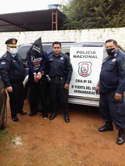Detienen a presunto autor del homicidio de la magistrada de Hernandarias