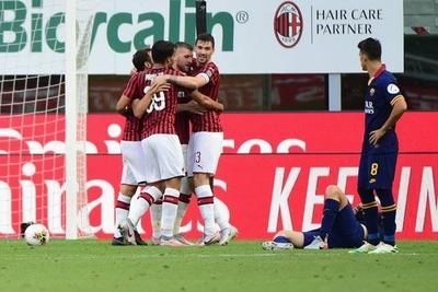HOY / Rebic acerca al Milan a la Liga Europa y aleja a Roma de la Liga de Campeones