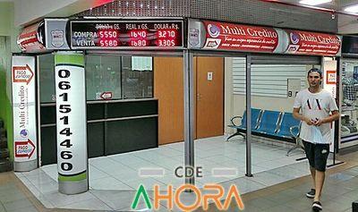 CASAS DE CAMBIOS CLANDESTINAS operan con total IMPUNIDAD en CDE
