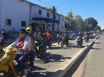 Con caravana repudian al impune  clan Núñez