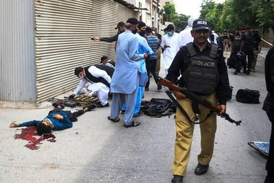 Pakistán: Ataque a la Bolsa de Karachi deja varios muertos