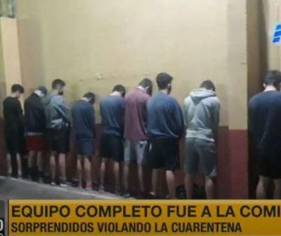 11 detenidos por violar cuarentena sanitaria en San Lorenzo