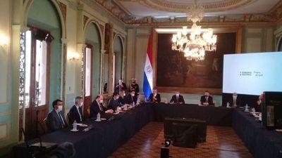 Mario Abdo presenta plan de reactivación y anuncia nueva deuda de US$ 350 millones