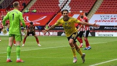 Un gol en tiempo de adición pone al Arsenal en semifinales de la FA Cup