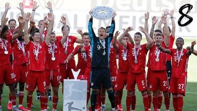 Diez de diez: El retorno perfecto del Bayern Múnich tras la reanudación del fútbol