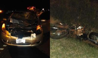 Fatal accidente de tránsito en J. Eulogio Estigarribia – Prensa 5
