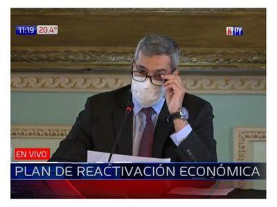 Segunda deuda de reactivación económica contra el Covid-19 será de US$ 350 millones