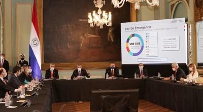 Ejecutivo presenta plan de reactivación económica Ñamopu'ã Paraguay