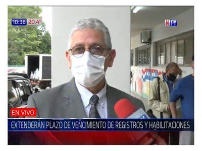 Municipalidad de Asunción prorrogará validez del registro de conducir