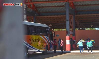 Terminal de ómnibus; Actividades comerciales se redujeron al 5% de lo normal – Prensa 5