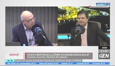 HOY / ¿Cómo salimos de la crisis?, nos responde Euclides Acevedo, ministro del Interior