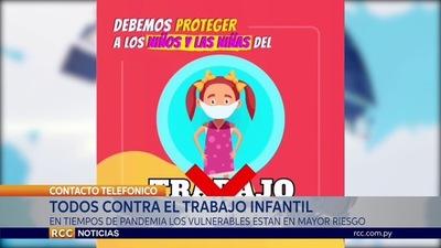 EN TIEMPOS DE PANDEMIA TODOS CONTRA EL TRABAJO INFANTIL