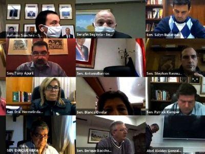 Senadores de la oposición aplazan la gestión de Marito