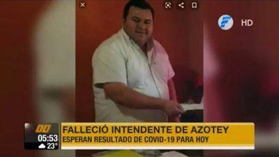 Muere intendente de Azotey y sospechan de coronavirus