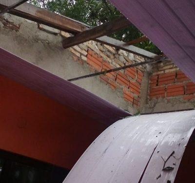 Temporal ocasiona destrozos en Alto Paraná