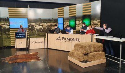 Piemonte vendió en tres días más de 3.100 cabezas de invernada