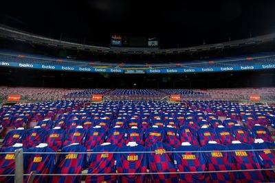 Barcelona cuenta con un aliento simbólico