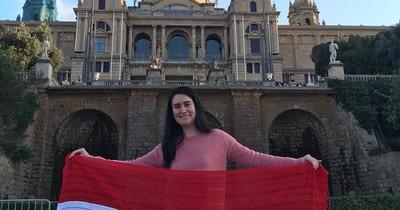 Paraguaya sobresaliente: defendió en España su tesina de masterado en plena pandemia