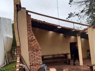 Temporal deja secuelas en Departamento de Caaguazú