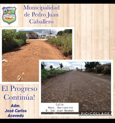 Municipalidad inaugura hoy pozo artesiano y pavimento en barrio San Juan Neumann