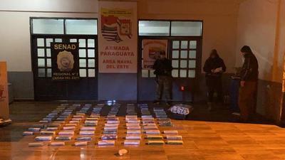 Frenan envío de drogas al Brasil