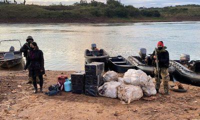 Incautan embarcación en el río Paraná