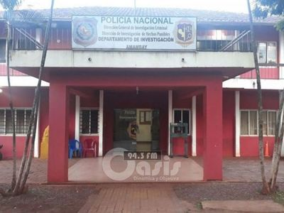 Detenido por asesinato en Pedro Juan estaría con Covid-19, 40 policías entraran en Cuarentena