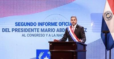 """Abdo: """"Hoy encomiendo el camino de Paraguay a Dios, declarando su reactivación económica"""""""