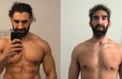 El 'antes y después' de un atleta con Covid-19 que estuvo 25 días en coma