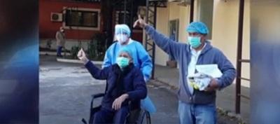 Tiene 82 años y venció al coronavirus