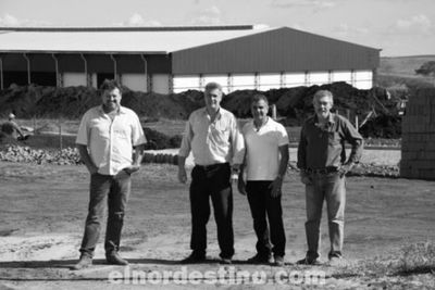 Están avanzadas las obras de construcción del moderno frigorífico Frigonorte en Pedro Juan Caballero