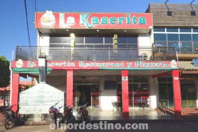 La Kaserita Restaurant y Pizzería, siete años de esmerada atención familiar en la ciudad de Pedro Juan Caballero