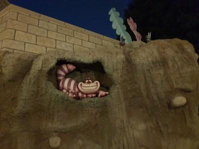 De terror: Así es como se ve Disneyland de noche
