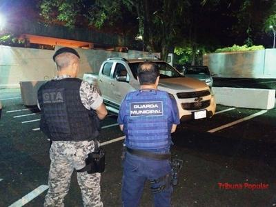 Recuperan en BRASIL camioneta robada en PARAGUAY