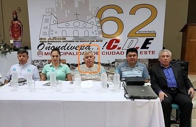 La HISTORIA del EX CONCEJAL CORRUPTO que preside comisión de festejos en CDE