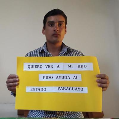 Médico uruguayo pide ayuda al estado paraguayo para recuperar a su hijo