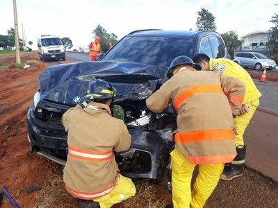 (Urgente) Accidente de tránsito