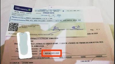 Intendente Prieto usa DINERO de royalties para SUELDO de PLANILLEROS