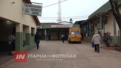 OCUPACIÓN DE CAMAS POR CUADROS RESPIRATORIOS NO SUPERA EL 20% EN ITAPÚA