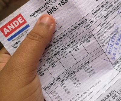 Exoneración de facturas de Ande y Essap será hasta agosto