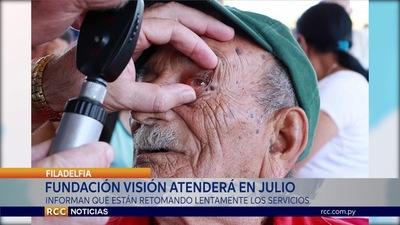 FUNDACIÓN VISIÓN ATENDERÁ EL 8 Y 9 DE JULIO EN FILADELFIA