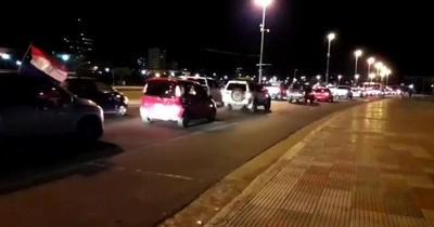 Caravana contra la corrupción tuvo gran participación tras informe de Abdo, afirman