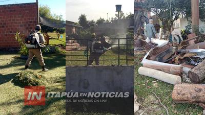 SENEPA ITAPÚA CONTINÚA CON TAREAS DE COMBATE A VECTORES DE ENFERMEDADES.