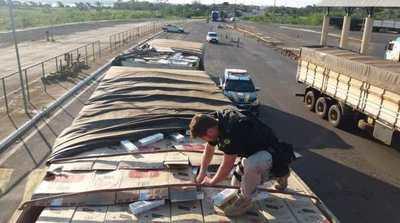 Decomisan 400 mil gruesas de CIGARRILLO PARAGUAYO
