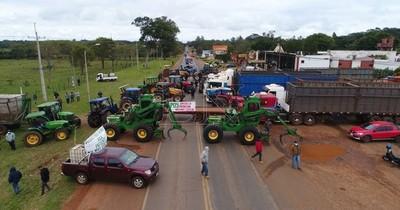 Cañicultores se manifiestan en repudio al contrabando de azúcar, piden respuesta al Estado