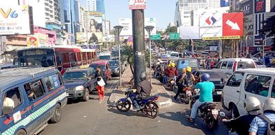 Empresarios rechazan manifestaciones en el microcentro de Ciudad del Este